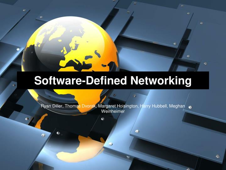 software defined networking n.