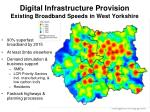 digital infrastructure provision existing broadband speeds in west yorkshire