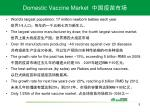 domestic vaccine market
