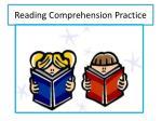 reading comprehension practice1