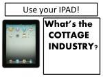 use your ipad3