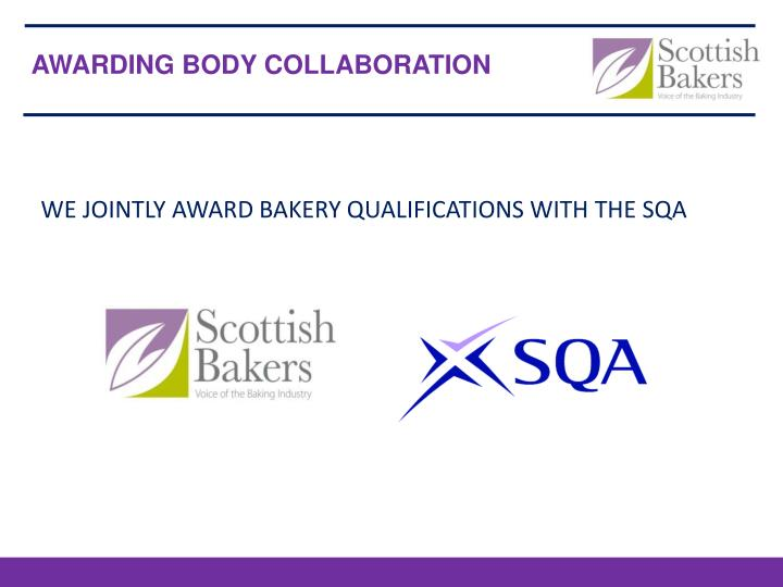 AWARDING BODY COLLABORATION