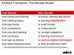 skillsoft framework the decade ahead1