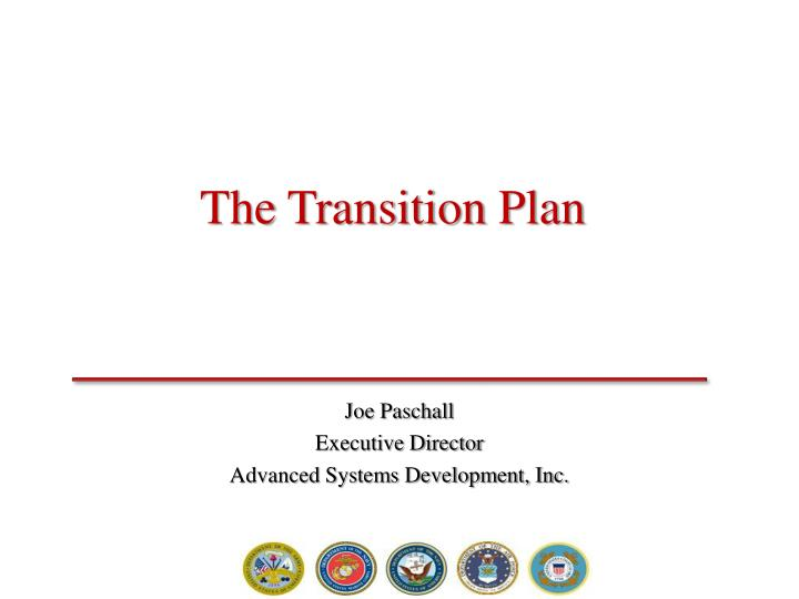 the transition plan n.