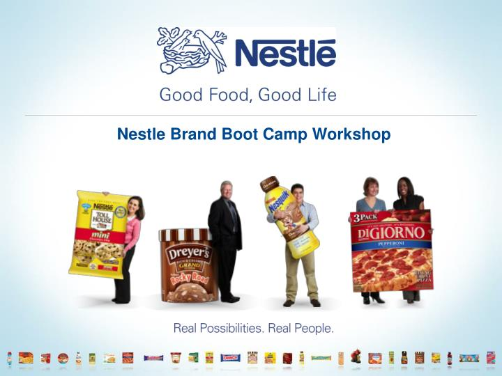 nestle brand boot camp workshop n.