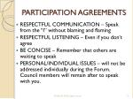participation agreements