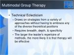 multimodal group therapy1