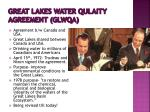 great lakes water qulaity agreement glwqa