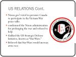 us relations cont1