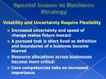 special issues in business strategy3