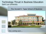 technology thrust in business education saint leo university8