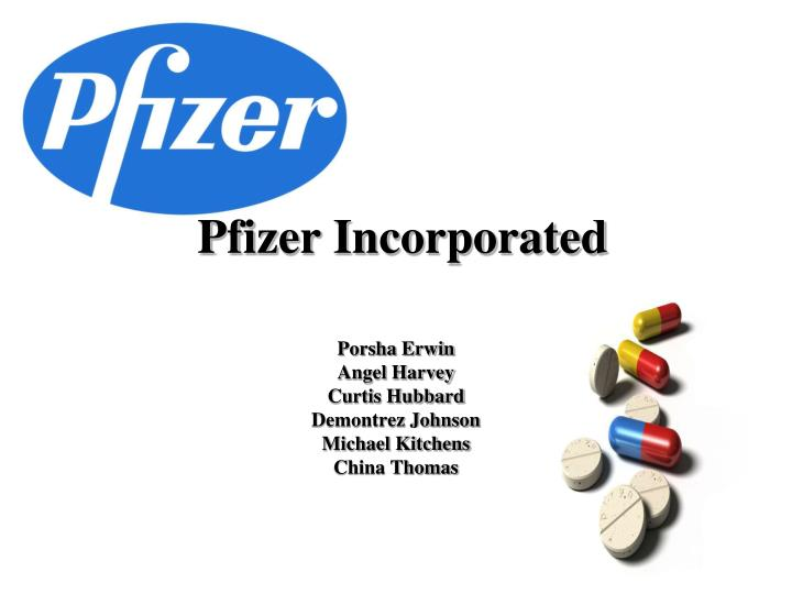 pfizer incorporated n.