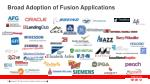 broad adoption of fusion applications