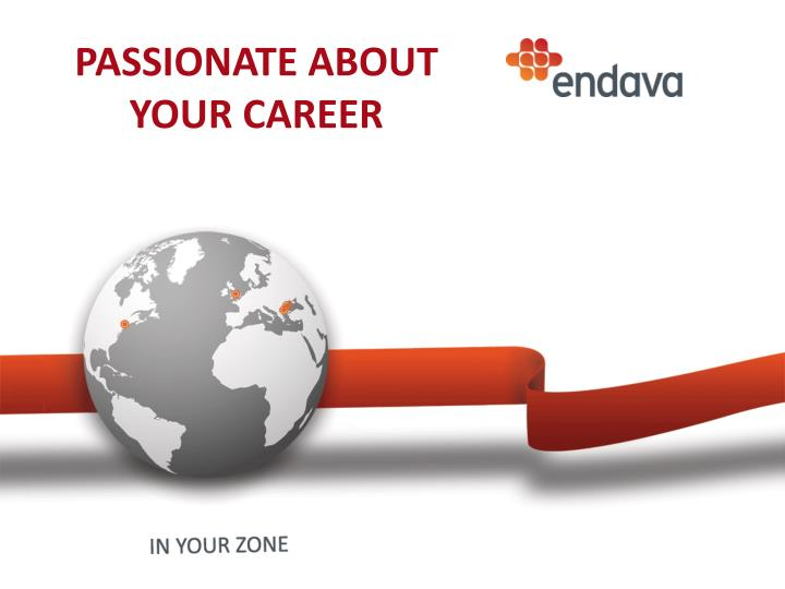 passionate about your career n.