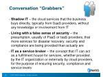 conversation grabbers