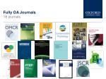 fully oa journals