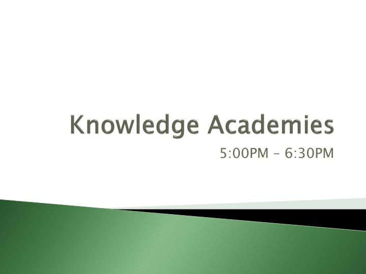 knowledge academies n.