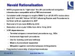 navaid rationalisation