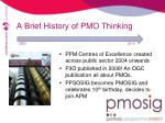 a brief history of pmo thinking5
