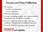 process and data collection
