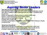 aspiring senior leaders1