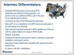 intermec differentiators