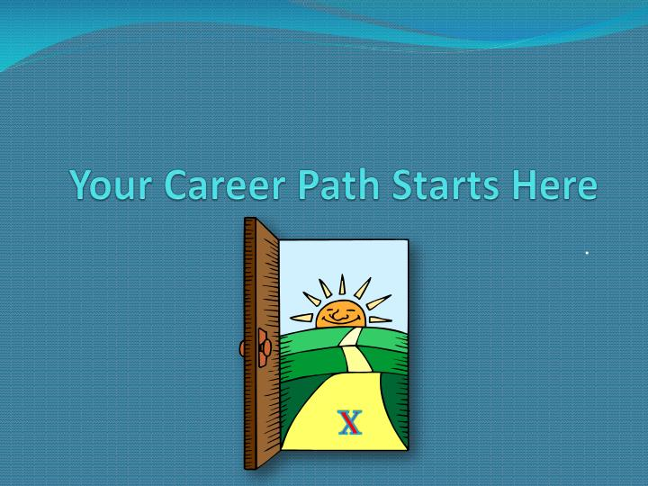 your career path starts here n.