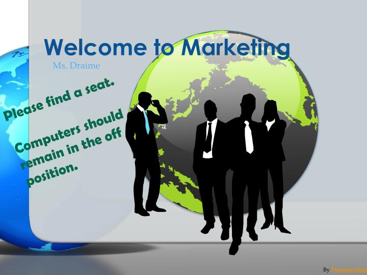 welcome to marketing n.