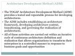 architecture development method adm