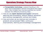 operations strategy process view2
