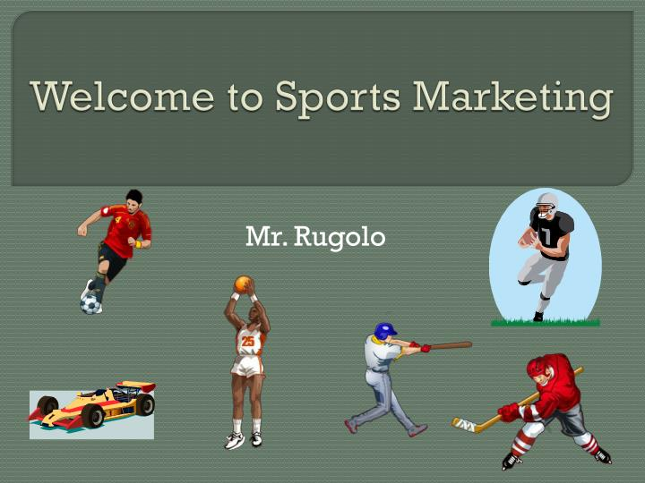 welcome to sports marketing n.