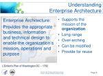 understanding enterprise architecture1