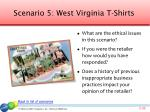 scenario 5 west virginia t shirts