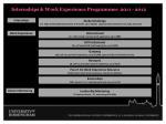 internships work experience programmes 2011 2012