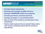 coe goal 4 ensure effectiveness across enterprise