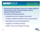 services enabler software engineers