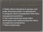 guidelines for managing ethics in the workplace 2