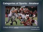categories of sports amateur1
