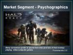 market segment psychographics1
