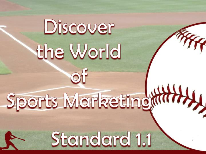 discover the world of sports marketing n.