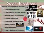 sports producers