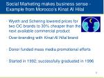 social marketing makes business sense example from morocco s kinat al hilal