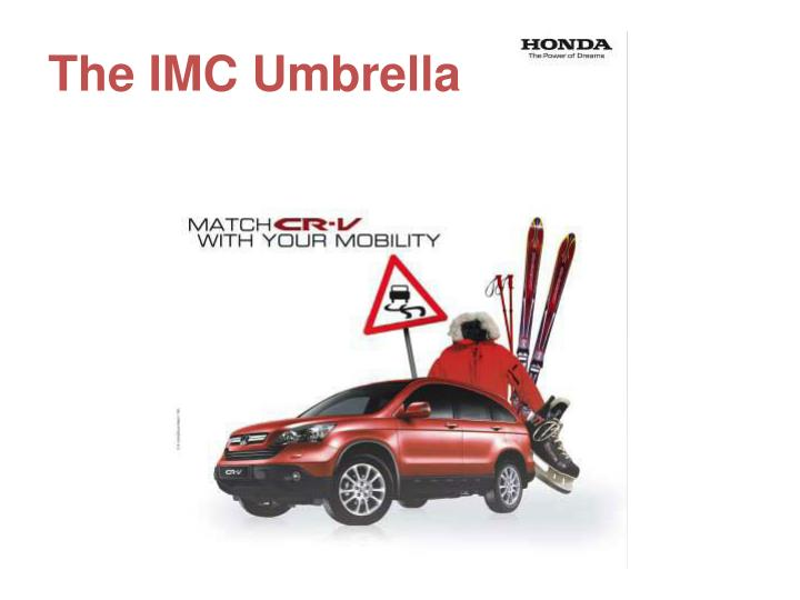 the imc umbrella n.