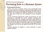 dps 304 procurement management purchasing role in a business system11