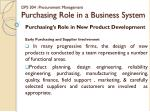 dps 304 procurement management purchasing role in a business system12