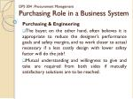 dps 304 procurement management purchasing role in a business system3