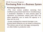 dps 304 procurement management purchasing role in a business system6