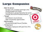 large companies