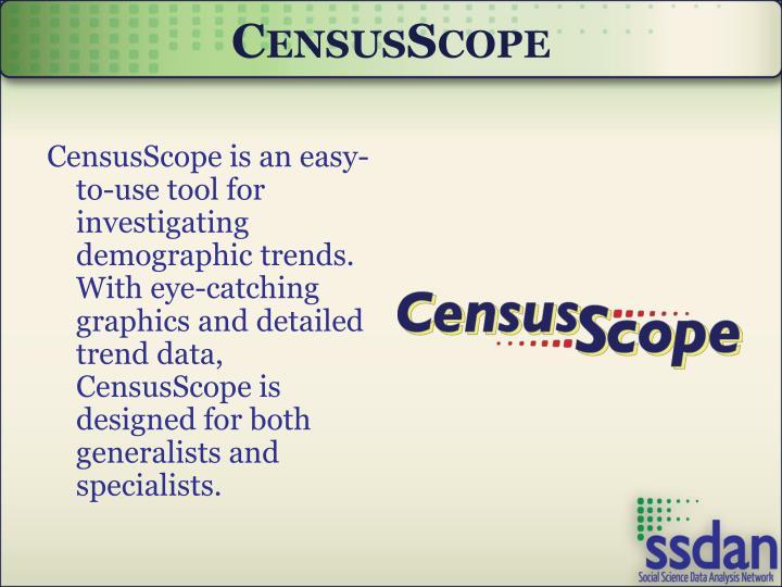 CensusScope