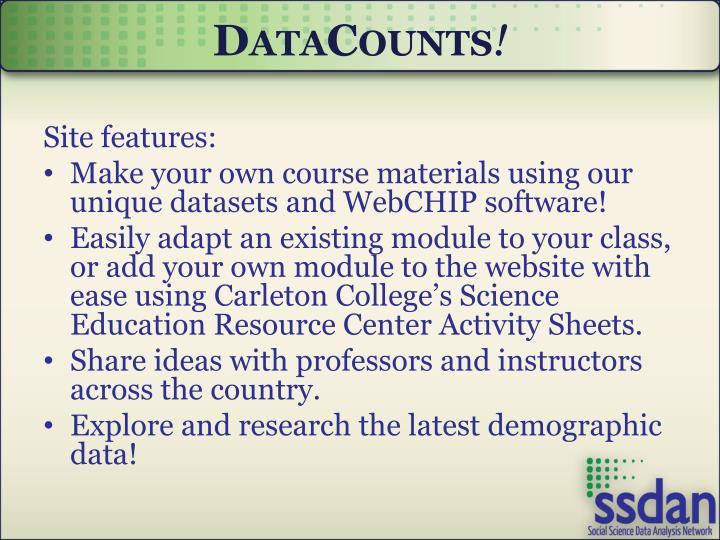 DataCounts